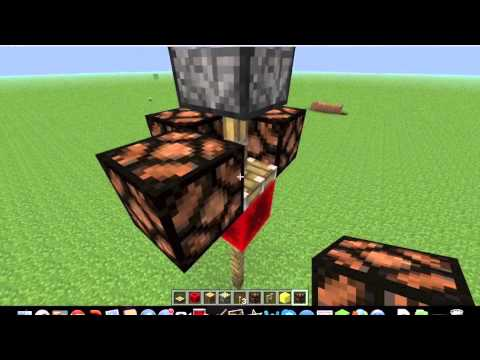 Minecraft How to make a lamp that only turns on at night