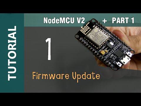 NodeMCU V2 ESP8266 WiFi IOT Module Flashing Update Firmware using NodeMCU Flasher Tutorial Part 1