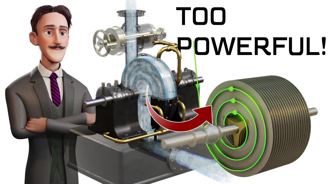 Tesla Turbine   The interesting engineering behind it
