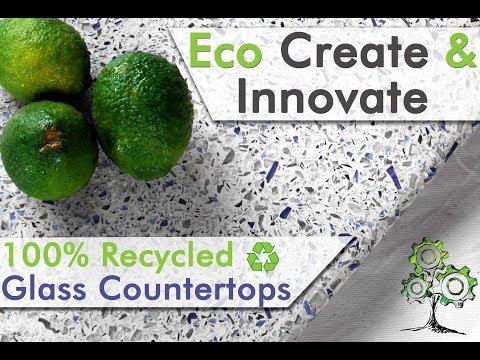Eco Create & Innovate - Recycled Glass Countertops Kenya (Eco-tops)