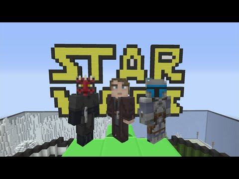 ★Minecraft Xbox 360 + PS3 - STAR WARS PREQUEL SKIN-PACK! FULL SHOWCASE + First Impressions★