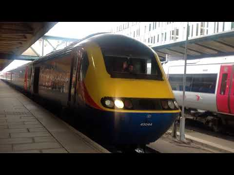 *in the cab of 222024* trains at nottingham (02/02/18)
