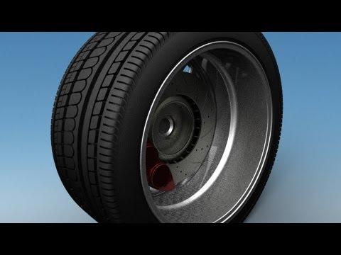 Rhino V5 | Modeling an Automotive Tire