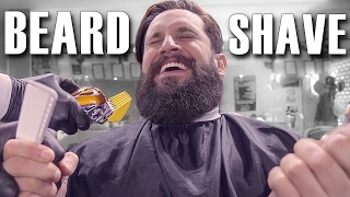 SHAVING VIKING BEARD OFF AFTER 2 YEARS! | Girlfriend & Mum SURPRISE REACTION | Crazy Transformation