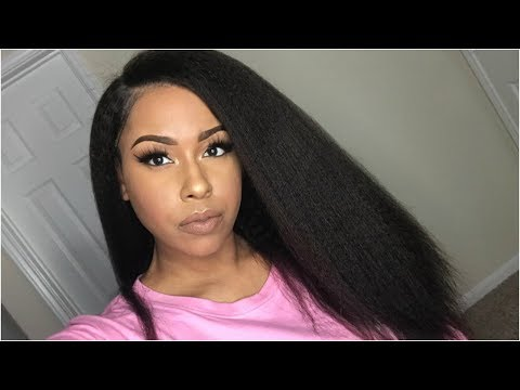 BLOW OUT GOALS! | KSW001 Kinky Straight Wig | WigEncounters