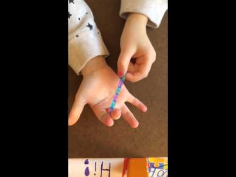 How to make a rainbow loom ring by hand