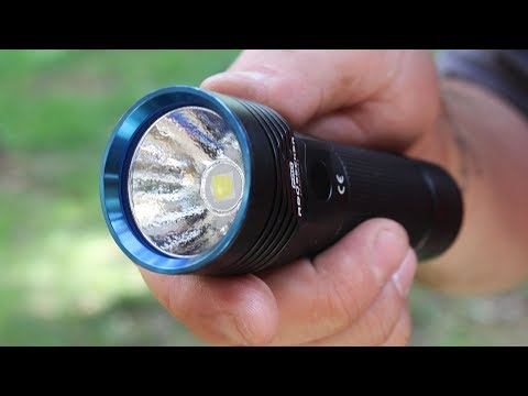 Powerful Flashlight R50 PRO Seeker with 4500mAh Battery
