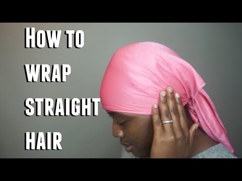 How to| Wrap Straight Hair