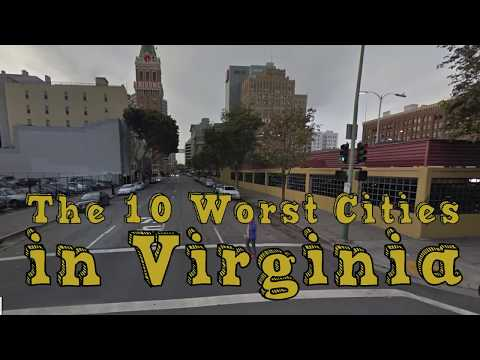 The 10 Worst Cities In Virginia Explained
