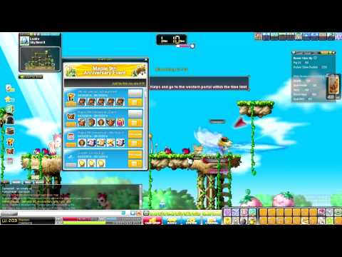 Make Tons Of Meso Off of MapleStory's 9th Anniversary