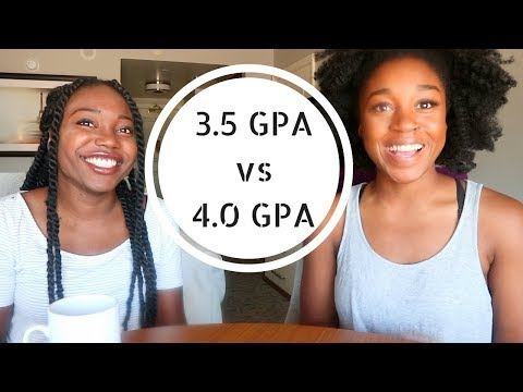 3.5 GPA vs a 4.0 GPA...what's the difference? (college & med school tips)