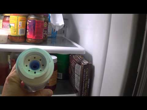 How to Change a KitchenAid Refrigerator Water Filter