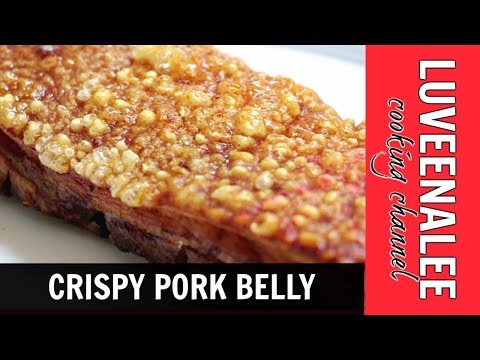 Crispy Pork Skin/Crispy Roast Pork Belly(with air fryer)