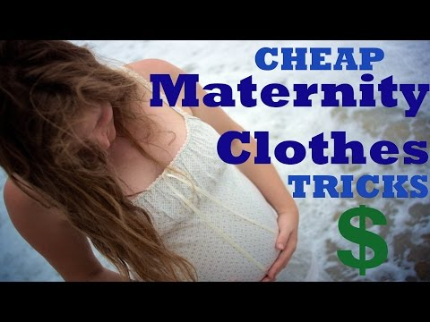 Cheap Maternity Clothes: transform current wardrobe