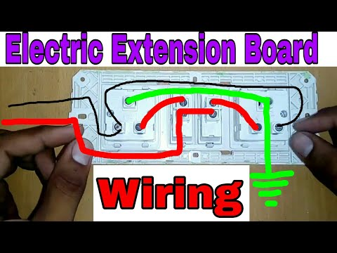 How to make a 2 socket Extension Board