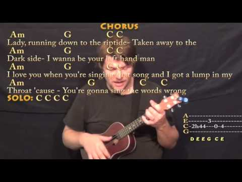 Riptide (Vance Joy) Ukulele Cover Lesson with Chords/Lyrics