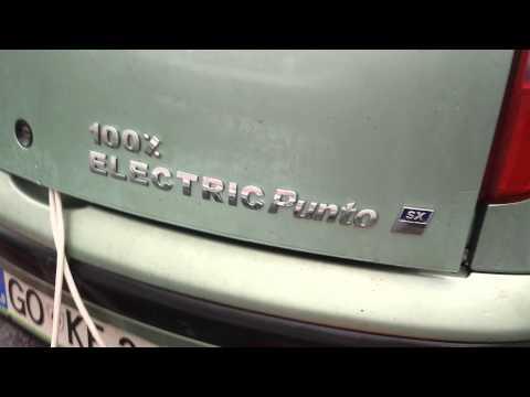 Charging EV Honda charging Fiat. Consumption 5.4L / 100Km.
