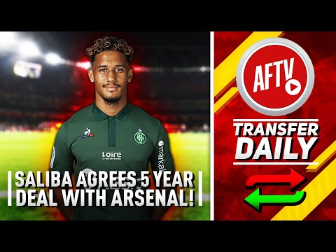 Xxx Mp4 William Saliba Agrees Five Year Deal With Arsenal AFTV Transfer Daily 3gp Sex