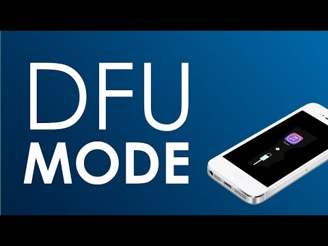 How to Enter and Exit dfu mode on Your iOS Devices