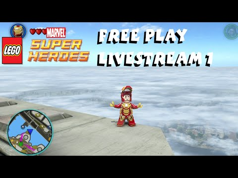 Lego Marvel Super Heroes Free Play Livestream #1