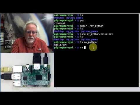 Raspberry Pi Linux LESSON 24: Running Python on the Raspberry Pi