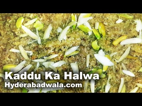 Kaddu Ka Halwa Recipe Video – How to Make Hyderabadi Bottle Gourd sweet – Easy & Simple
