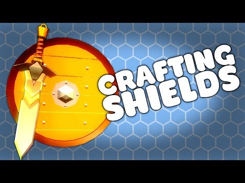 BUILDING NEW SHIELDS - My Little Blacksmith Shop Gameplay Update 0.0.8