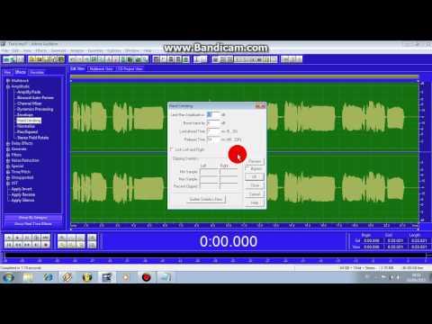 Adobe audition 1 5 Chorus vocal mixing