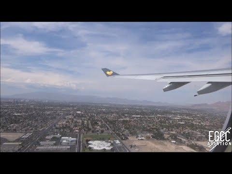Thomas Cook A330-200 Las Vegas McCarran - Manchester Full Flight 09-10/07/17
