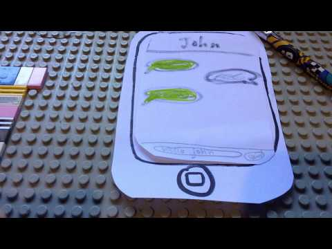 The all new paper iPhone! (Stop motion)