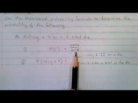 Theoretical Probability - Example 1.