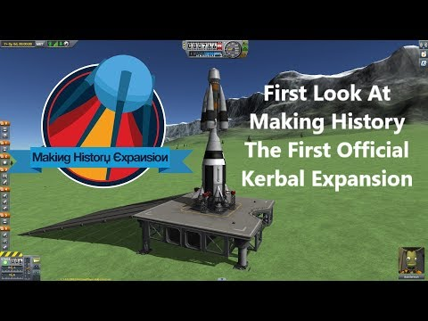 Kerbal Space Program - Making History - Preview