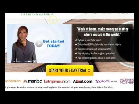 Get Paid to Teach Students Math Online - $50 Hr Make Money Online Tutoring