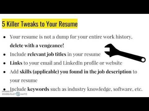 Update Your Resume, LinkedIn Profile, and Portfolio Using These Hacks