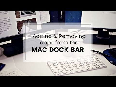 How To Add And Remove Apps From The Mac Dock Bar