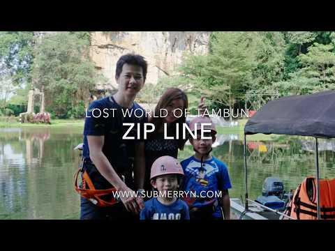 Zip Line at Lost World of Tambun Adventure Park
