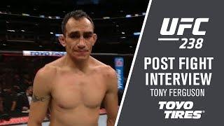 """UFC 238: Tony Ferguson - """"I wanted to get a third round"""""""