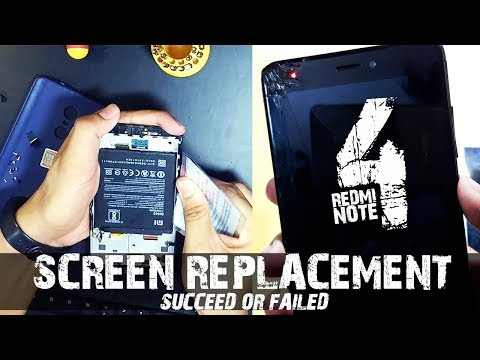 Xiaomi Redmi Note 4 LCD Display + Touch Screen Digitizer With Frame Replacement