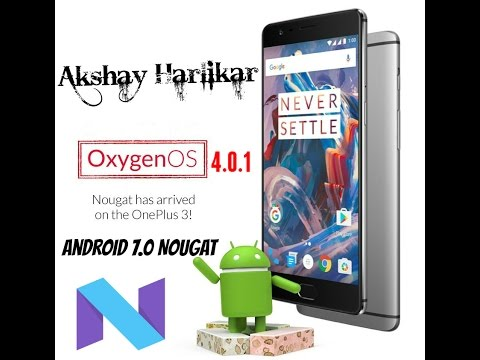 Update Oneplus 3 of any country to Oxygen OS 4.0.1 (Official version) just follow the steps in Video