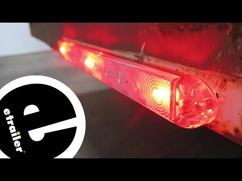 Optronics Sealed Ultra Thin Line LED Identification Light Bar Installation - etrailer.com