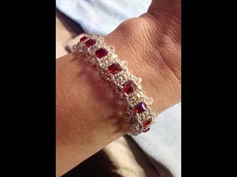 Royal Beauty Bracelet Tutorial