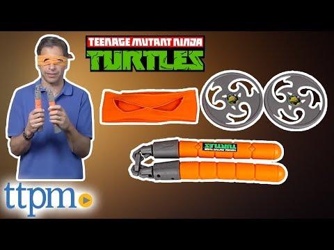 Teenage Mutant Ninja Turtles Michelangelo Ninja Combat Gear from Playmates Toys