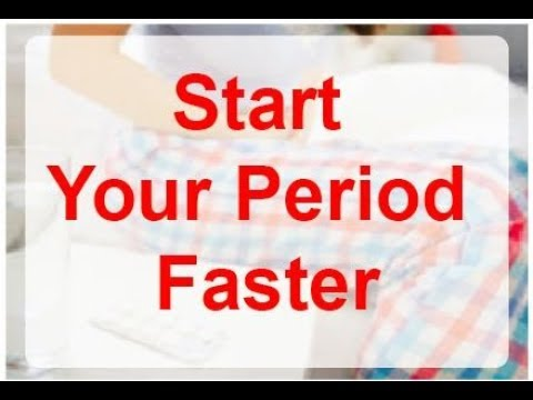 How to Start Your Period Faster Naturally