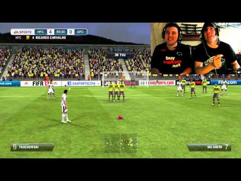 FIFA 13 Two guys one cup challenge #1
