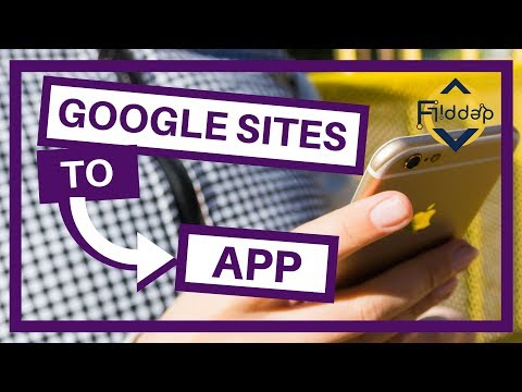 How to turn your NEW Google Sites into a Mobile App