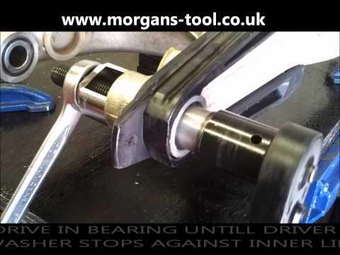 How to replace KTM swingarm bearings