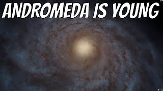 Turns Out, Andromeda Galaxy Is Younger than Earth