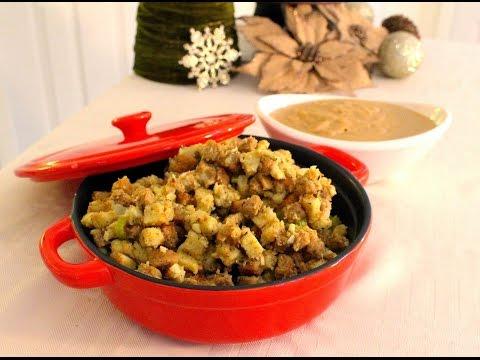 How To Make Vegan Stuffing & Gravy