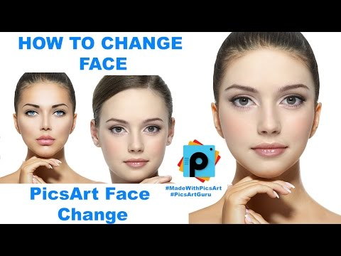 PicsArt Tutorial : How to Change Face in PicsArt (Replace Face | Swap Face | Morph Face)