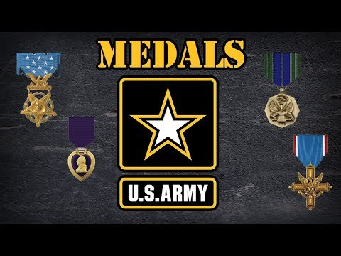Awards in the US Army